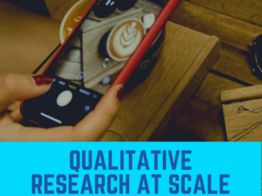 Qualitative Research at Scale with a bot