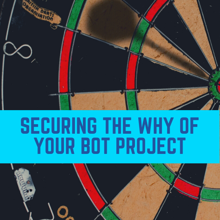Securing the Why of your Bot Project