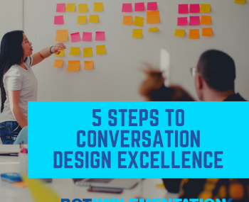 5 Steps to Conversation Design Excellence BMP 29 small