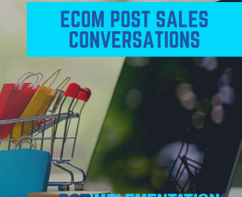 eCommers Post Sales Conversations